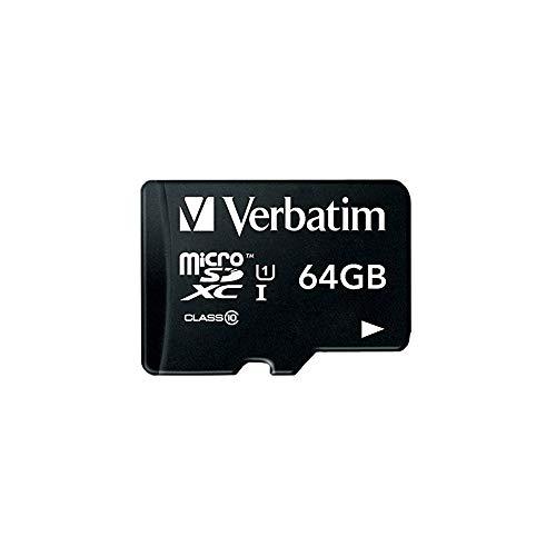 三菱ケミカルメディア Verbatim microSDXCカード 64GB Class10 MXCN64GJVZ2