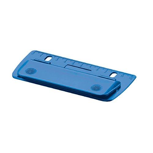 """Herlitz Taschenlocher \""""blau\"""" / Mini Locher / abheftbar"""