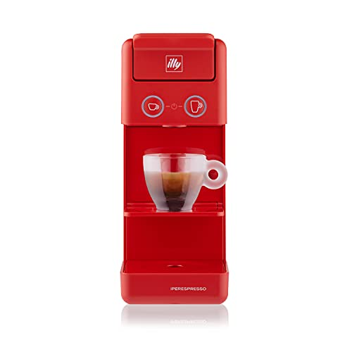 illy Caffè, Macchina da Caffè a Capsule Iperespresso Y3.3 Rossa