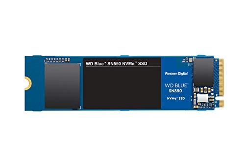 WD Blue SN550 500 GB NVMe SSD, Gen3 x4 PCIe, M.22280, 3DNAND