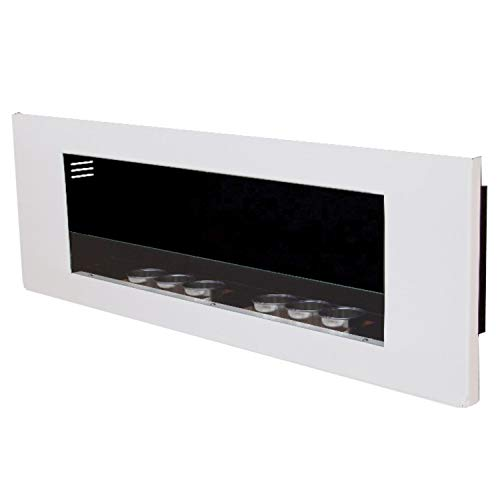 Gel and Ethanol Fire place Fireplace Model Paris Royal color selection (White)