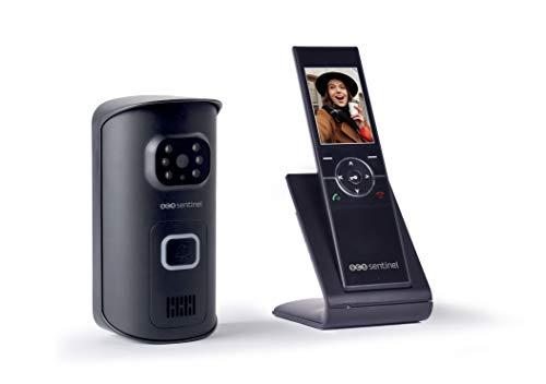 Interphone vidéo sans Fil - Portier vidéo sans Fil - Visiophone sans Fil - Interphone vidéo sans Fil combiné Portatif - Visiophone sans Fil AirVisio 150 - PVS0010 SCS Sentinel