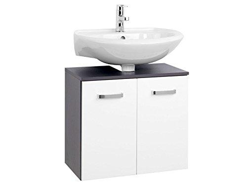 möbelando Unterbeckenschrank Badmöbel Waschbeckenunterschrank Schrank Bad Bologna VI 60 cm