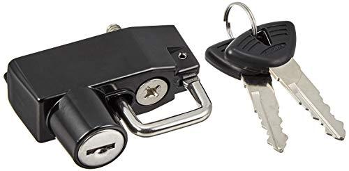 キジマ (KIJIMA) ヘルメットロック 35mmパイプ用 クランプ式 (ブラック) スポーツスターモデル2004年~ HD-05146