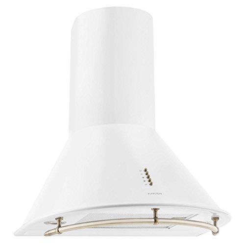 Klarstein Lumio Primo Cappa Aspirante da cucina in acciaio inox (60 cm, potenza di aspirazione pari...