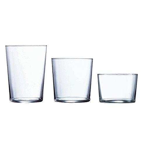 Luminarc - Set di 18 Bicchieri, Modello Gorbea