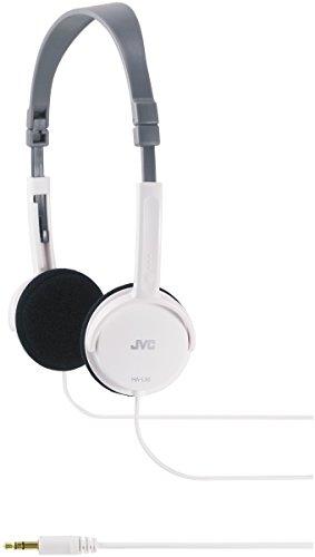 JVC HA-L50W, Cuffie Leggere, 18 - 22000 Hz, 3 cm, 1,5 m, Bianco