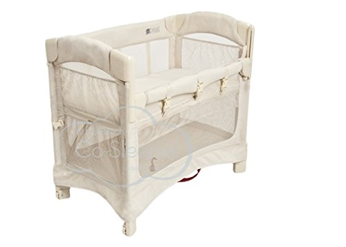 Image of Arm's Reach Concepts Mini Ezee 2-in-1 Bedside Bassinet - Natural
