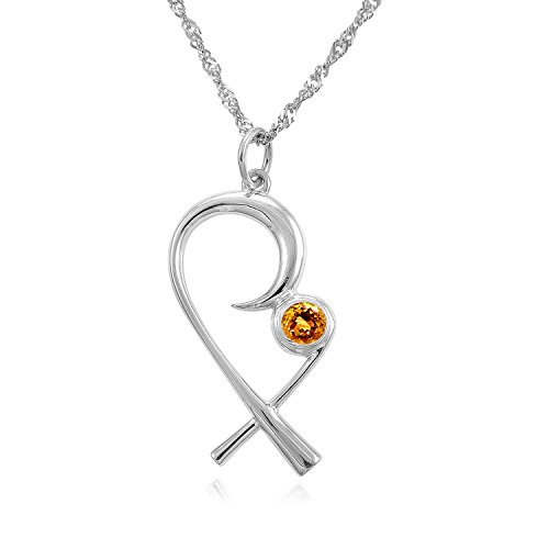 The Mommy Pendant - Silver Mother Child Necklace with...