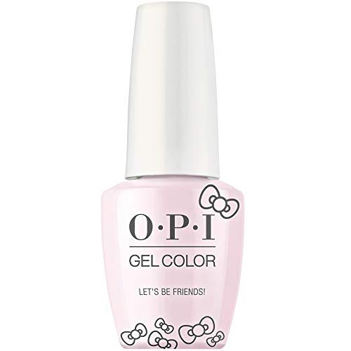 Hello Kitty by OPI Collection, Gel Color, Let's Be Friends!