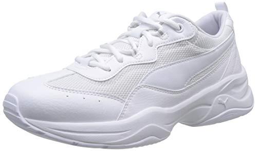 Puma Damen Cilia Sneaker, Weiß (Puma White-Gray Violet-Puma Silver), 38.5 EU