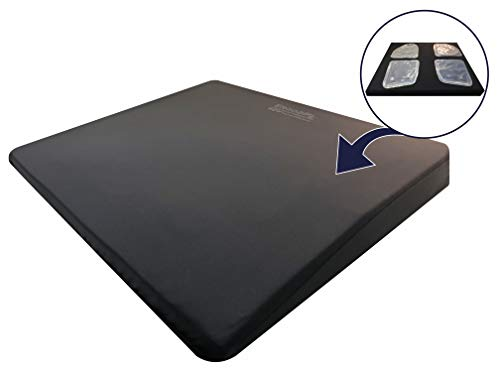 ERGO21 Liquicell Sports Cushion - Better Than Gel, Foam, and Air! Liquid-Filled Membranes. Blood Flow Improved by 150% (Extra Large - 20' x 18' x 2.5')