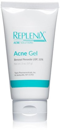 Replenix Acne Solutions Benzoyl Peroxide Gel, 2 oz