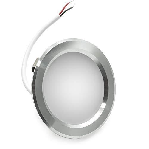 Faretto LED 3W slim incasso foro 60mm opaco luce cappa cucina mensola IP20 220V