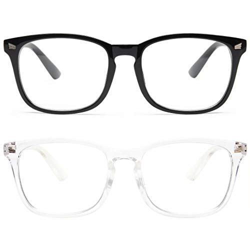 livho 2 Pack Blue Light Blocking Glasses, Computer...
