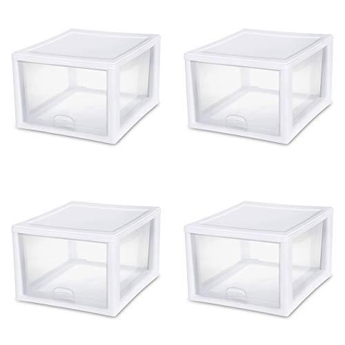 Sterilite stacking drawer