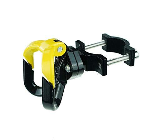 SPEDWHEL Scooter eléctrico Bolsas de Metal de Aluminio Gancho para ninebot MAX G30 / G30D kickscooter m365 / M365 Pro (Amarillo (B))