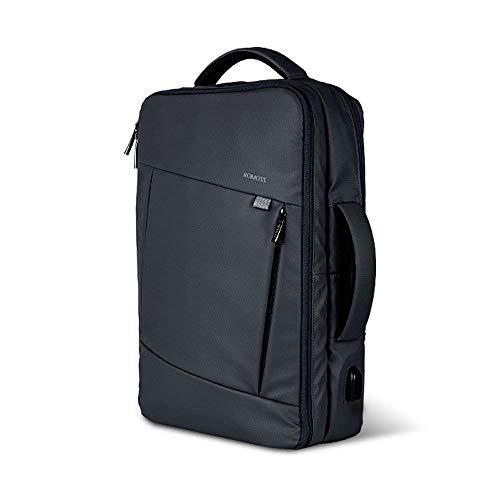 ビジネス リュック バッグ 3WAY 手提げ ROMOSS USB 充電ポート PCパソコン バックパック メンズ レディース...