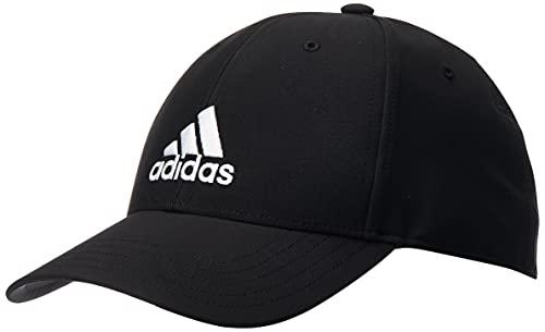 adidas Unisex Cap Bballcap Lt Emb, Black/Black/White, GM4509, OSFM EU