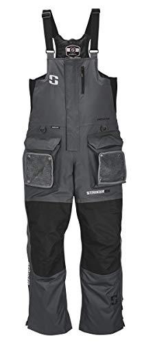 Striker Ice Men's Fishing Cold Weather Insulated Predator Bib, Gray, X-Large