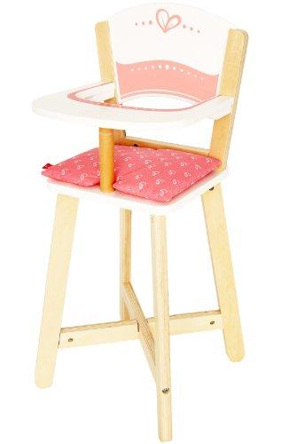 Award Winning Hape Babydoll Highchair Toddler Wooden Doll Play Furniture