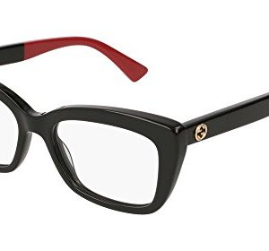 Gucci GG 0165 O- 003 BLACK Eyeglasses