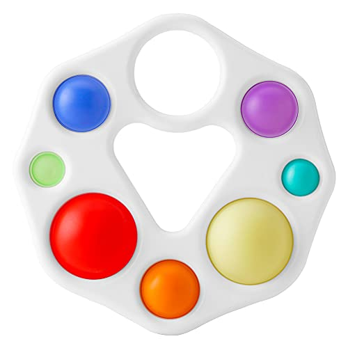 sincewo Baby Simple Dimple Fidget Toy, Silicone Sensory...