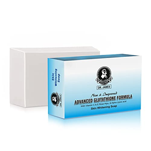 Winlip Dr James Glutathione Vitamin C, E and Rose Hips Skin Whitening Soap