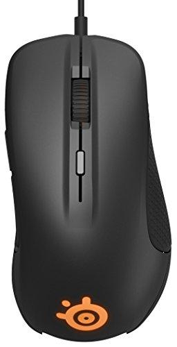 SteelSeries Rival 300 - Ratón óptico de Juego, iluminación RGB, 6...