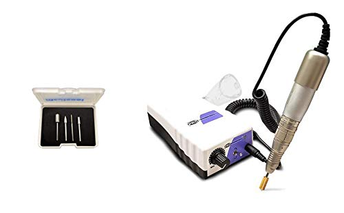 Medicool Pro Power 520 Electric Nail File Machine for Manicure and Pedicure + Bit Kit 2 Bundle | PP520+FBK2