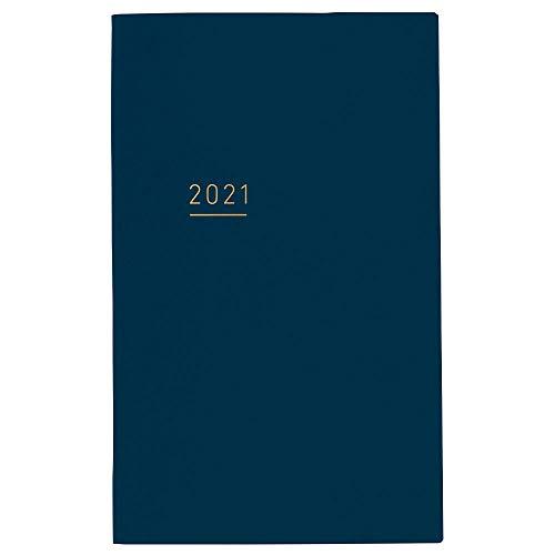 コクヨ ジブン手帳 Lite mini 手帳 2021年 B6 スリム マンスリー&ウィークリー ネイビー ニ-JLM1DB-21 2020...