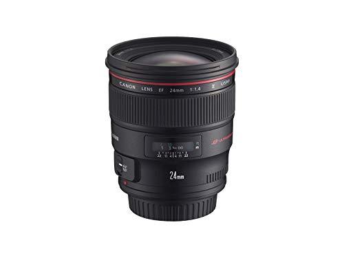 Canon EF 24 mm f/1.4L II USM - Objetivo para Canon (Distancia Focal Fija 24mm, Apertura...