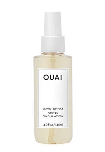 OUAI Wave Spray. For Perfect Yet Effortless Beachy Waves. The Wave Spray Adds Texture, Body and Shine and is Safe for Color- and Keratin-Treated Hair. Free from Parabens and Sulfates (4.9 oz) 1