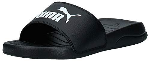 PUMA Popcat 20, Zapatos de Playa y Piscina Unisex Adulto Black White, 39 EU
