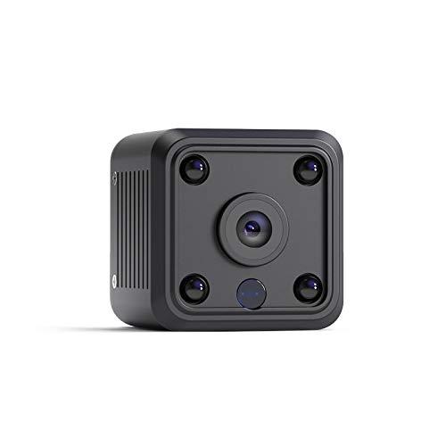 OWSOO Mini Telecamera Spia Nascosta Wireless Spy Cam 1080P HD WiFi Telecamera Spia con Visione Notturna, Registrazione Video e Rilevamento del Movimento per Casa, Automobile, Drone, Ufficio