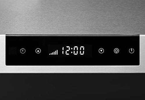 """Hauslane - Chef Series 30"""" PS18 Under Cabinet Range Hood, Stainless Steel - Pro Performance - Contemporary Design 860 CFM, Touch Screen w/Clock, Dishwasher Safe Baffle Filters, LED Lamps, 3Way Venting"""