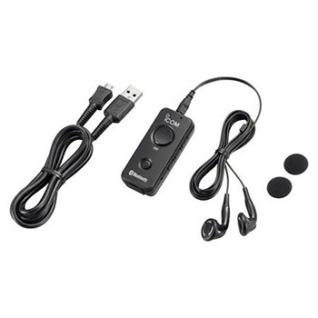 Icom America 1 Pc, Vs-3 Bluetooth Headset/with Earbuds and Microphone/Push-to-Talk (Ptt) Function
