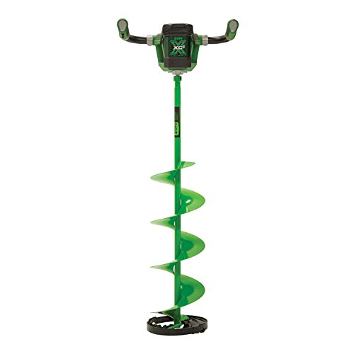 ION X 29300 40V 5 amp-hour Electric 10-Inch Complete Ice Auger, with Reverse