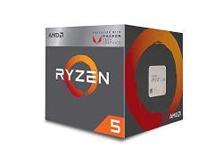 AMD Ryzen 5 3400G 4-core, 8-Thread Unlocked Desktop Processor with Radeon RX Graphics