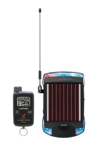 ユピテル(YUPITERU)アギュラス簡単取付ソーラー充電タイプ カーセキュリティ通報機能付き VE-S37RS