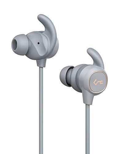 Écouteurs Bluetooth sans Fil, AUKEY Oreillettes Sport avec Switch Magnétique, Basses Profondes,Résistance à l'eau IPX6, durée autonomie 8 h Key Series B60 pour la Gym