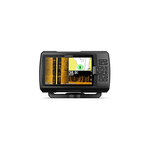 Garmin Striker Plus 7sv 0753759184322 - Navigatore satellitare Striker Plus 7sv, con registratore vocale GT52HW, Colore: Nero