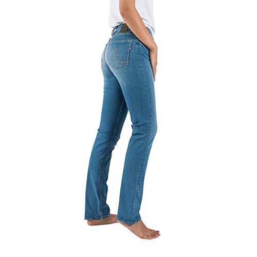Kuyichi Damen Jeans Sara Bio-Baumwolle, Light Blue, Gr. 28/32