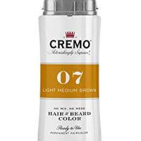 Cremo No Mess 2 in 1 Hair and Beard Color, Light Medium Brown, 2.7 Fluid Ounces