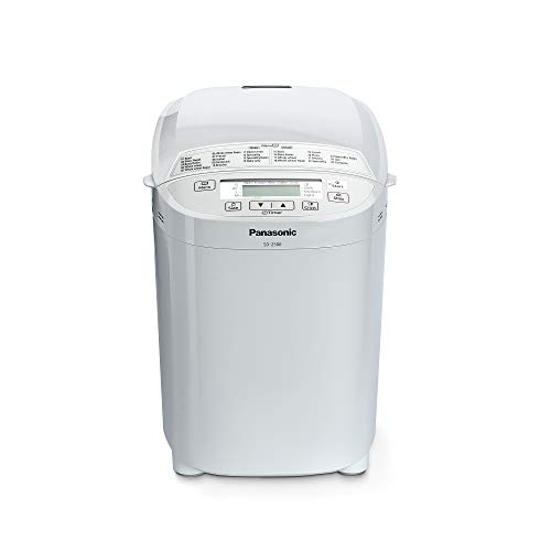 Panasonic SD-2500WXE Macchina per il Pane, 10 Impasti, modalit Senza Glutine, Marmellata e Composte,...