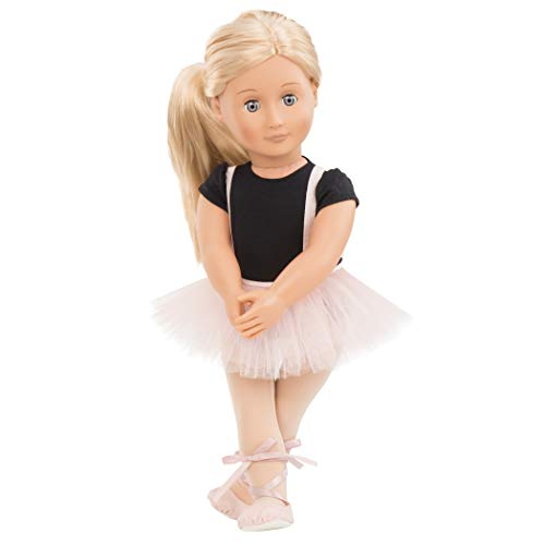 Our Generation- Violet Anna 18' Regular Ballerina Fashion Doll- for Age 3 & Up