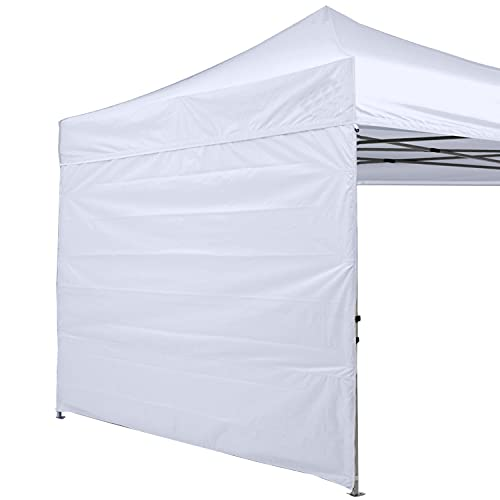 ABCCANOPY Instant Canopy SunWall 10x10 FT, 1 Pack Sidewall Only,...