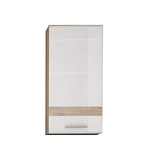 Trendteam Smart Living Mobili, Legno, Bianco, 37 x 77 x 24 cm