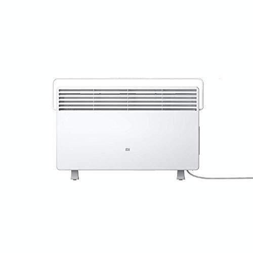 Xiaomi Mi Smart Space Heater S Elektrische Konvektor Heizung mit optionaler iOS/Android App- und Sprachsteuerung (2.200W, bis zu 28°C, digitaler Thermostat, 6 Temperaturstufen, Timer, Auto-Off, IPX4)
