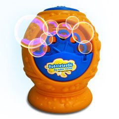 Bacon Bubble Blower Machine for Kids and Dogs - Includes 8oz Bottle of Bacon Bubbles - 100% Safe, Non Toxic Dog Bubbles